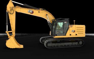 Pásové rypadlo Caterpillar CAT 326