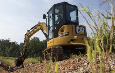 Pásové rypadlo Caterpillar CAT 305.5E2